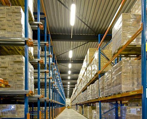 energie besparen in je magazijn
